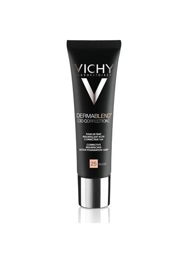 Vichy VICHY Dermablend 3 Boyutlu Düzeltici Fondöten SPF25  30 ml - NUDE 25 Ten